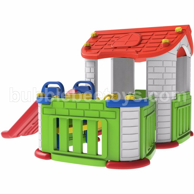 Big Happy Playhouse With Slide